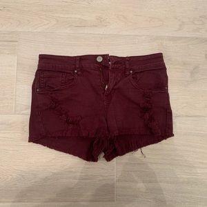 Bullhead low rise shorts